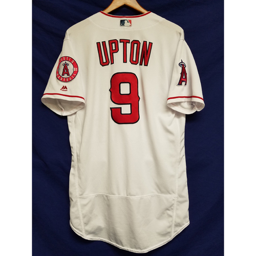 Photo of Justin Upton 2017 Game-Used Home Jersey