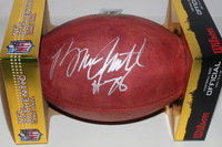 HOF - BILLS BRUCE SMITH SIGNED AUTHENTIC FOOTBALL