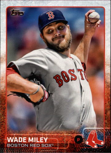 Photo of 2015 Topps #601 Wade Miley