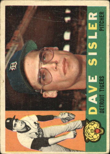 Photo of 1960 Topps #186 Dave Sisler