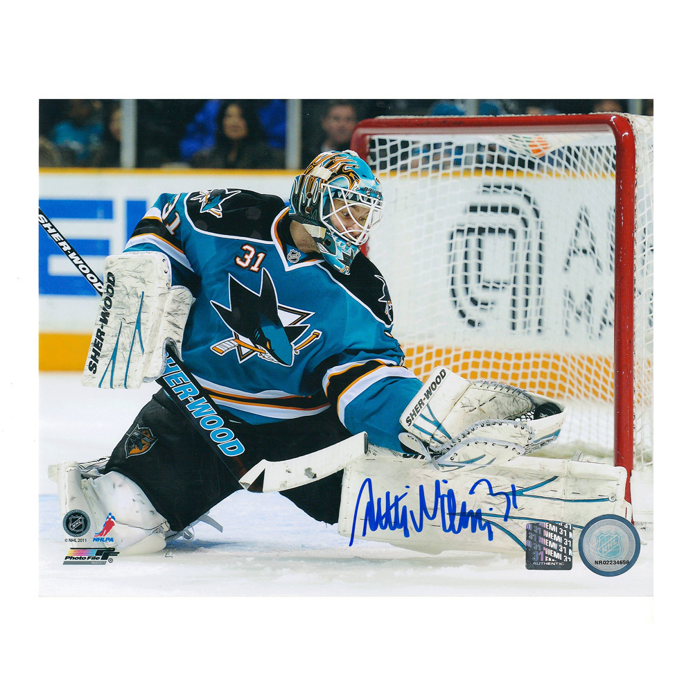 ANTTI NIEMI Signed San Jose Sharks 8 X 10 Photo - 70042