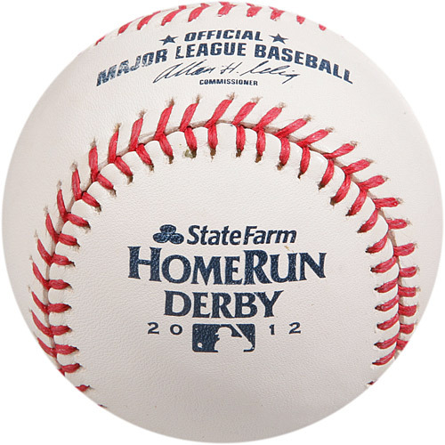 Photo of 2016 All-Star Archive Auction: 2012 Home Run Derby - Jose Bautista, Final Round, Out #3