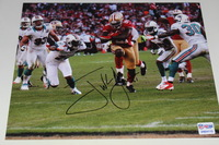 49ERS - FRANK GORE SIGNED 8X10 PHOTO
