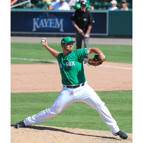 Photo of Red Sox Foundation St. Patrick's Day Jersey Auction - Austin Maddox Game-Used & Autographed Jersey
