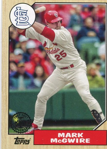 Photo of 2017 Topps '87 Topps #8789 Mark McGwire