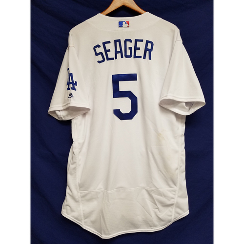 Photo of Kershaw's Challenge: Corey Seager Home Game Jersey