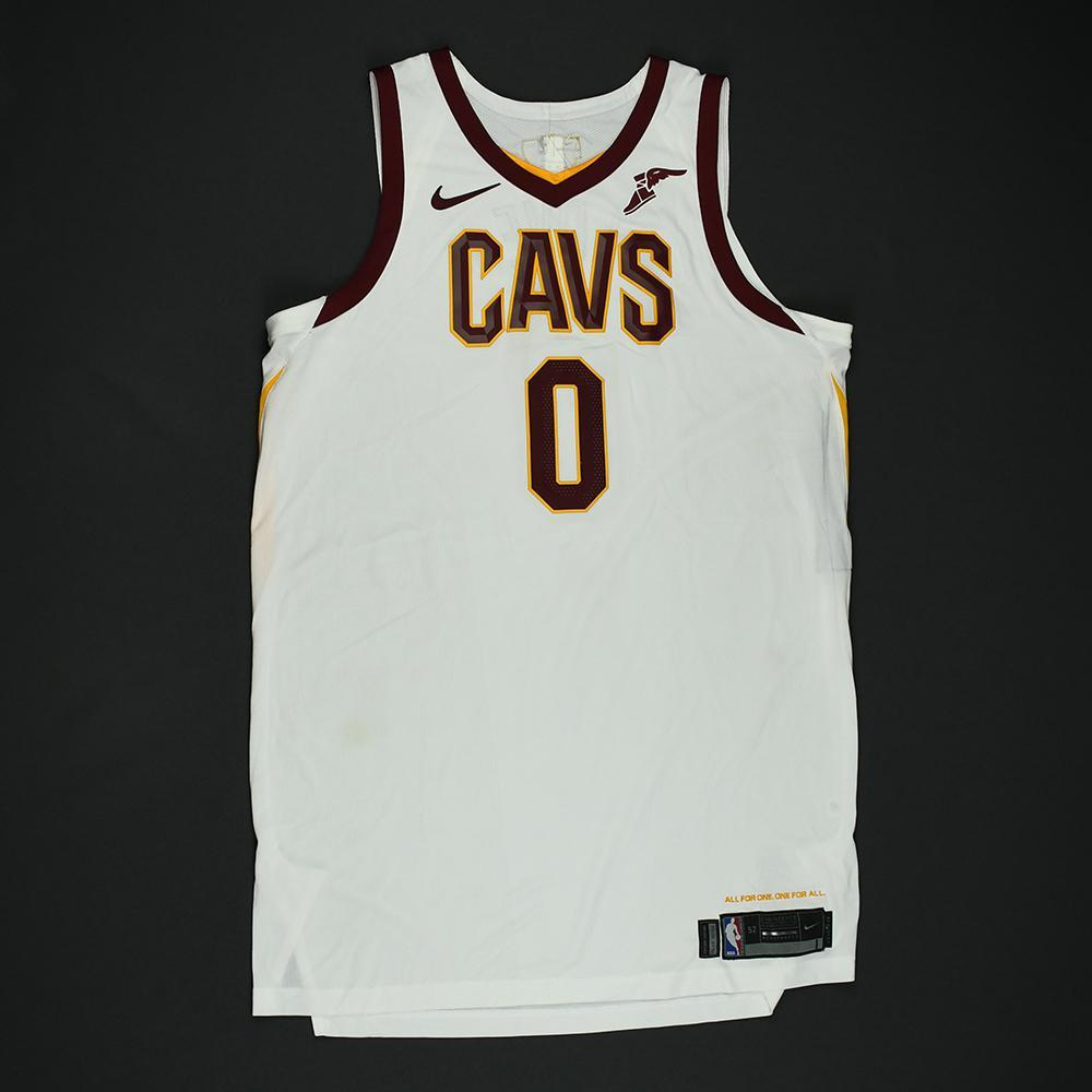 Kevin Love - Cleveland Cavaliers - 2018 NBA Finals - Game 2 - Game-Worn White Jersey - Double-Double - 2nd Half Only