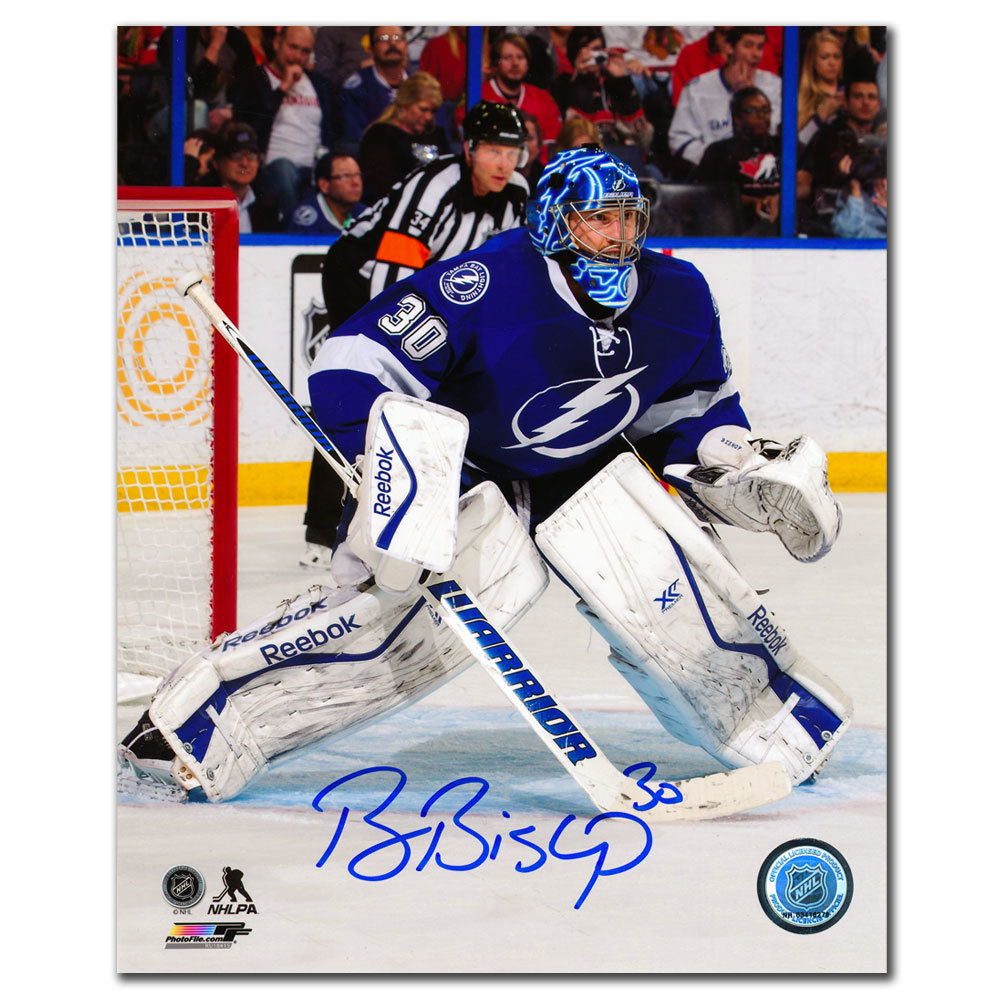 Ben Bishop Tampa Bay Lightning Autographed 8x10