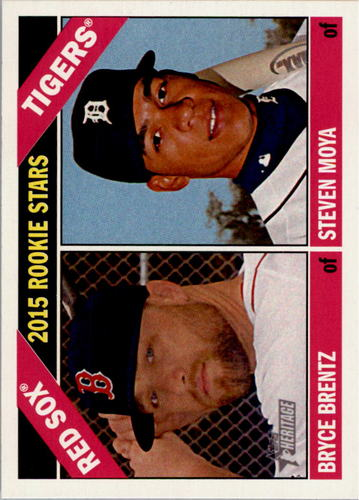 Photo of 2015 Topps Heritage #84 Bryce Brentz RC/Steven Moya RC