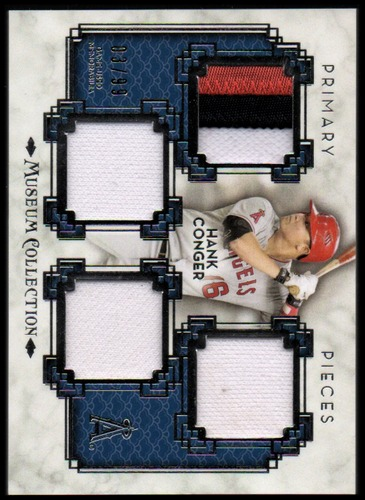 Photo of 2014 Topps Museum Collection Primary Pieces Quad Relics #PPQRHC Hank Conger