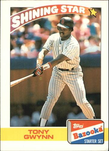 Photo of 1989 Bazooka #13 Tony Gwynn