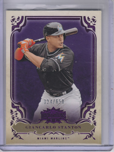 Photo of 2013 Topps Triple Threads Amethyst #60 Giancarlo Stanton