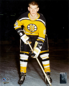 Bobby Orr Boston Bruins RARE Rookie Hockey Hall Of Fame Collection 8x10 Photo