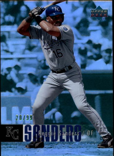 Photo of 2006 Upper Deck Special F/X Green #649 Reggie Sanders /99