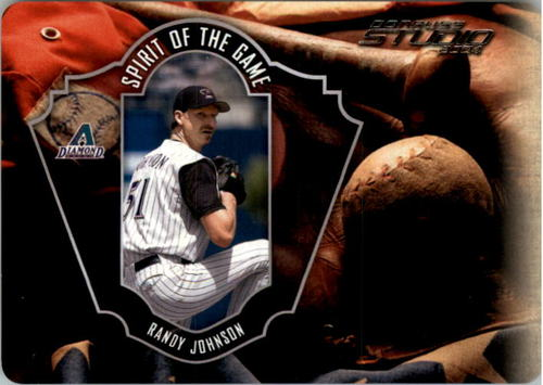 Photo of 2004 Studio Spirit of the Game Die Cut #8 Randy Johnson