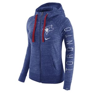 Toronto Blue Jays Women's Vintage Full Zip Hoody Royal by Nike