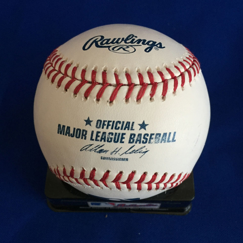 Photo of UMPS CARE AUCTION: Josh Hamilton Signed Baseball
