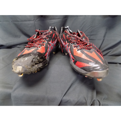 Photo of Yu Darvish Autographed Game-Used Spikes Auctioned To Benefit Jonathan Lucroy Breast Cancer Research Effort