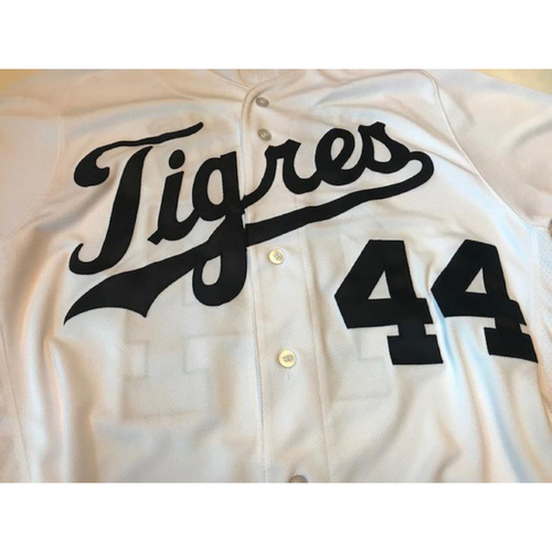 Photo of Team-Issued Fiesta Tigres Jersey: Daniel Norris