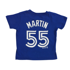 Toronto Blue Jays Toddler/Child Russell Martin Player T-Shirt by Majestic