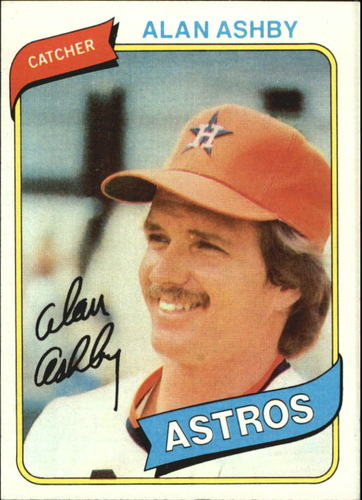 Photo of 1980 Topps #187 Alan Ashby