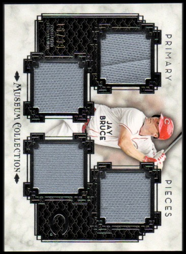 Photo of 2014 Topps Museum Collection Primary Pieces Quad Relics #PPQRJB Jay Bruce