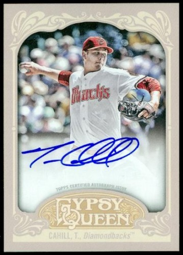 Photo of 2012 Topps Gypsy Queen Autographs #TC Trevor Cahill