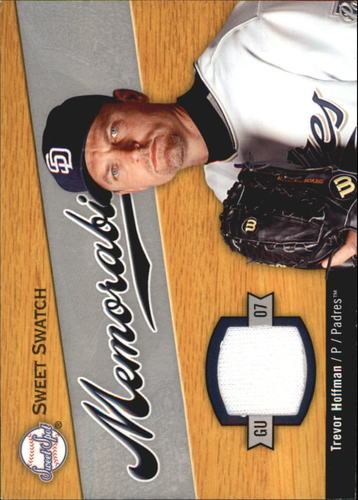 Photo of 2007 Sweet Spot Sweet Swatch Memorabilia #HO Trevor Hoffman