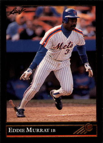 Photo of 1992 Leaf Black Gold #396 Eddie Murray