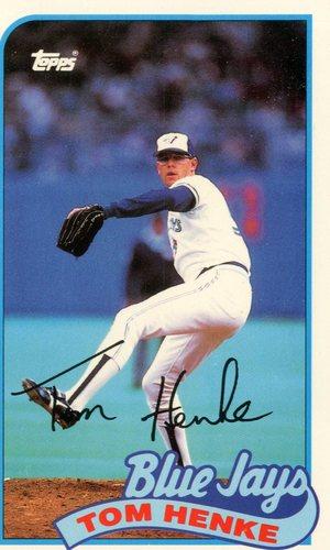 Photo of 1989 Topps Baseball Talk/LJN #118 Tom Henke