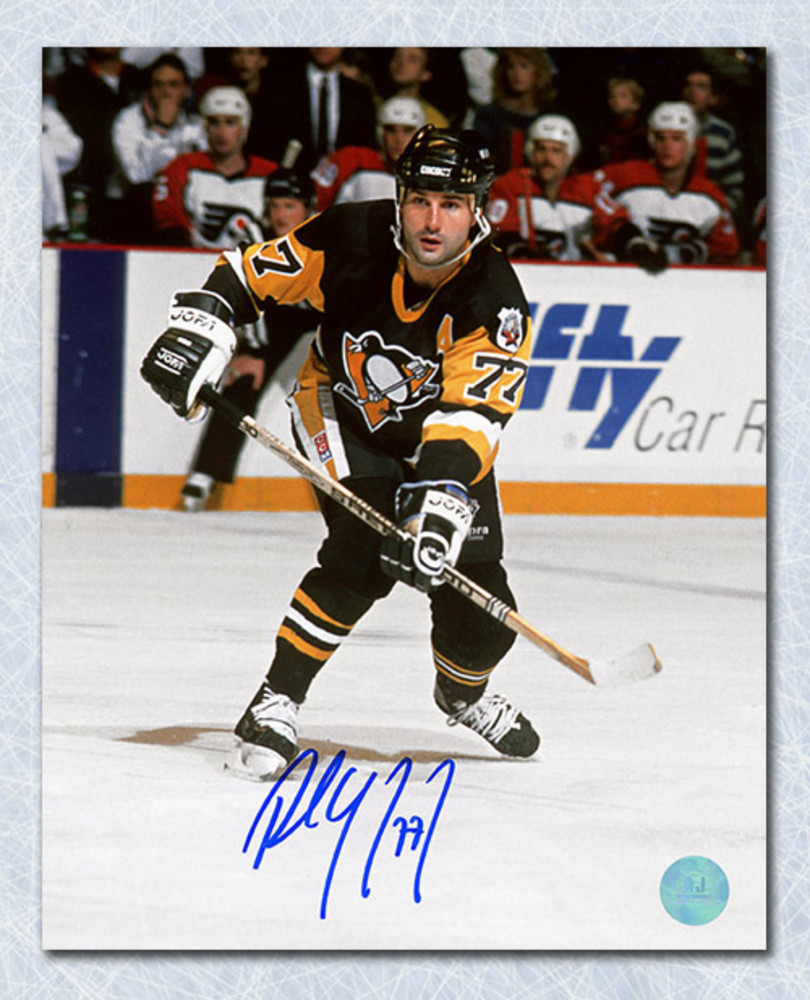 Paul Coffey Pittsburgh Penguins Autographed Playmaker Pass 8x10 Photo
