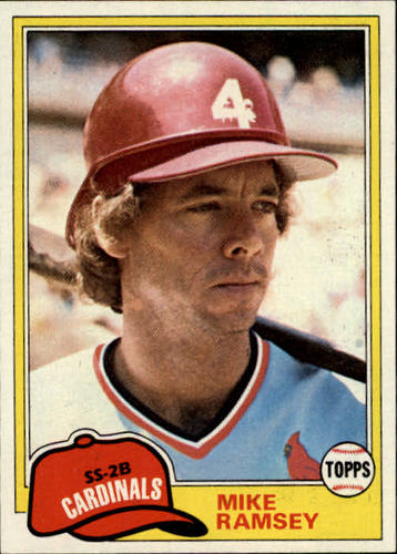 Photo of 1981 Topps #366 Mike Ramsey RC