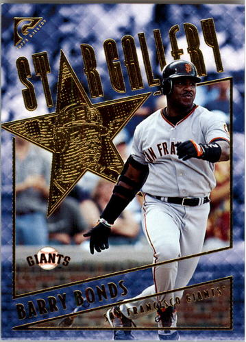 Photo of 2001 Topps Gallery Star Gallery #SG9 Barry Bonds