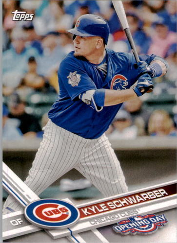 Photo of 2017 Topps Opening Day #150A Kyle Schwarber