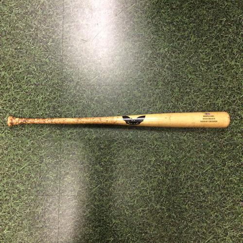 Photo of Ryan Braun 2016 Game-Used Cracked Bat