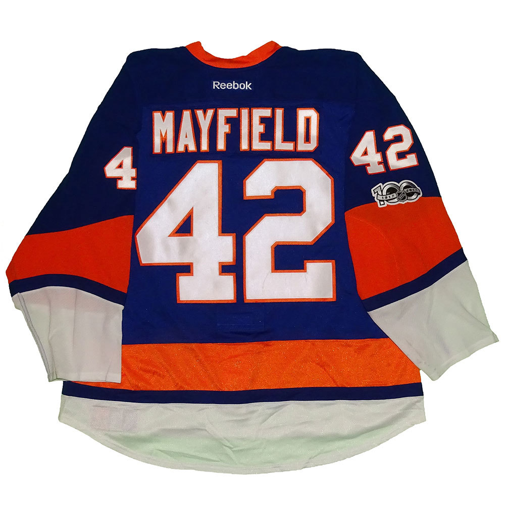 Scott Mayfield - Game Worn Home Jersey - 2016-17 Season - New York Islanders