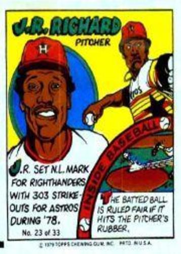 Photo of 1979 Topps Comics #23 J.R. Richard