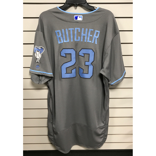 Photo of Mike Butcher Game-Used 2017 Father's Day Jersey