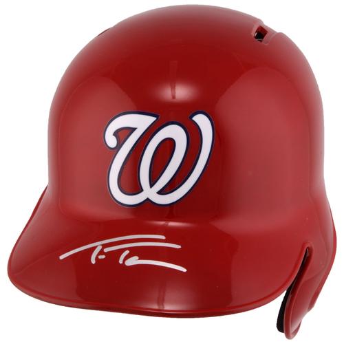 Photo of Trea Turner Washington Nationals Autographed Replica Batting Helmet