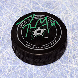 Tyler Seguin Dallas Stars Autographed Official NHL Game Puck