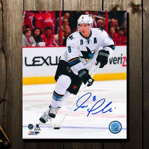 Joe Pavelski San Jose Sharks RUSH Autographed 8x10