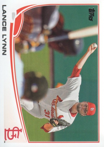Photo of 2013 Topps #507 Lance Lynn