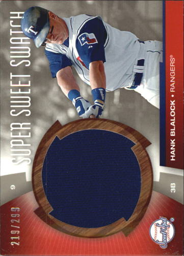 Photo of 2006 Sweet Spot Super Sweet Swatch #HB Hank Blalock Jsy/299