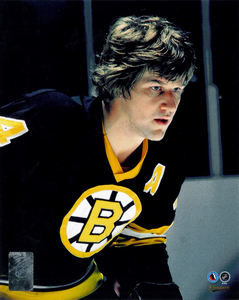 Bobby Orr Boston Bruins Close Up Hockey Hall Of Fame Collection 8x10 Photo