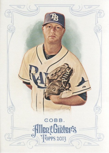 Photo of 2013 Topps Allen and Ginter #153 Alex Cobb