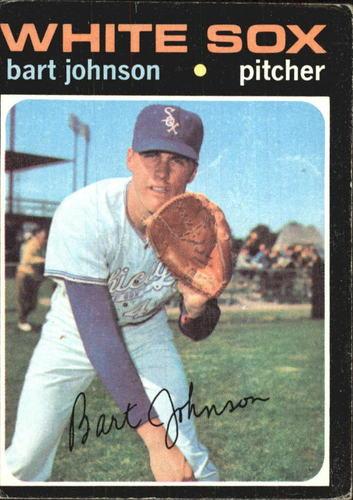 Photo of 1971 Topps #156 Bart Johnson