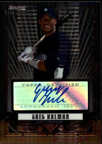 Photo of 2008 Bowman Sterling Prospects #GH Greg Halman AU