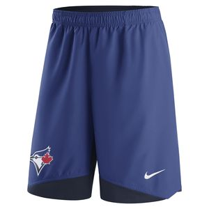 Toronto Blue Jays Authentic Collection Dri-Fit Woven Shorts by Nike