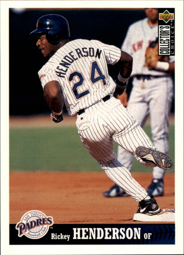 Photo of 1997 Collector's Choice #211 Rickey Henderson