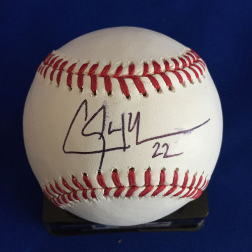 Photo of UMPS CARE AUCTION: Clayton Kershaw Signed Baseball